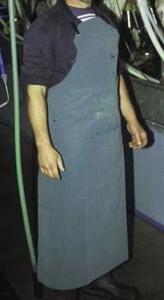 Picture of 2 oz neoprene apron